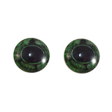 Green Frog Glass Eyes
