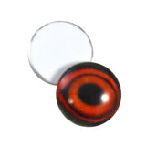 16mm glass duck eyes