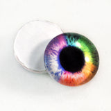 rainbow glass eyes