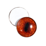 16mm red fox glass eyes