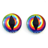 tie dye dragon glass eyes