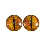 Golden Dragon Glass Eyes