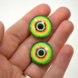20m Green and Yellow Monster Glass Eyes