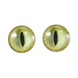 20mm pale yellow cat eyes