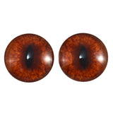 20mm red fox glass eyes