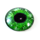 Intense Green Human Glass Eye