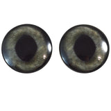 40mm dark gray cat eyes