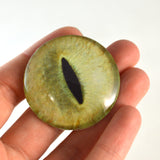 40mm pale yellow cat eye