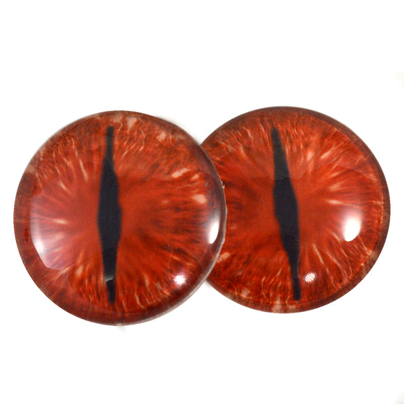 red dragon glass eyes