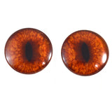 40mm red fox glass eyes