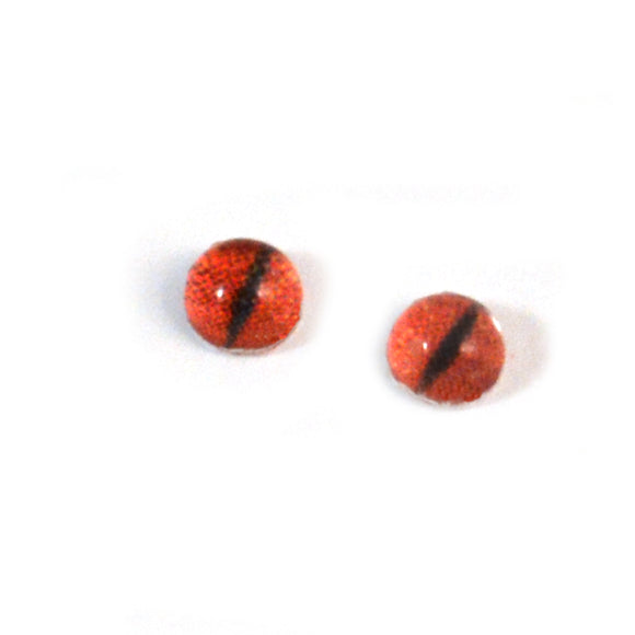 4mm Tiny Red Dragon Glass Eyes