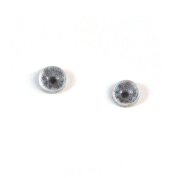 4mm Miniature Gray Doll Glass Eyes