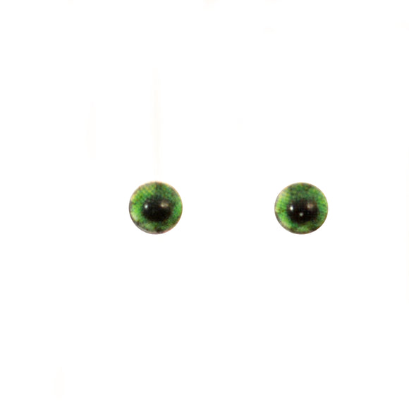 4mm Miniature Green Human Glass Eyes