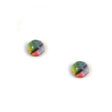 4mm Small Rainbow Dragon Glass Eyes