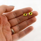 6mm Yellow Dragon or Cat Glass Eyes