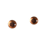 6mm bronze metallic glass eyes