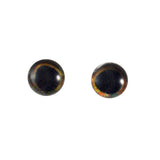 6mm dark glass fish eyes