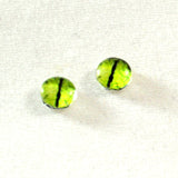 Lime Green Dragon Glass Eyes