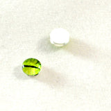6mm Lime Green Dragon Glass Eyes