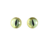 6mm pale yellow cat eyes