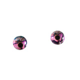 6mm Pink Butterfly Glass Eyes