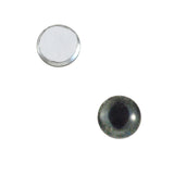 8mm dark gray cat eyes