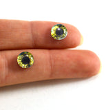 8mm Blue and Yellow Fantasy Glass Eyes