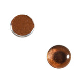 8mm bronze metallic glass eyes