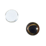 8mm dark glass fish eyes