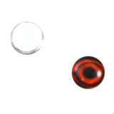 8mm glass duck eyes