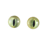 8mm pale yellow cat eyes