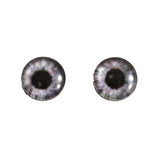 Black and White Gray Steampunk Glass Eyes