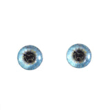 8mm blue unicorn glass eyes