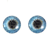 16mm blue unicorn glass eyes