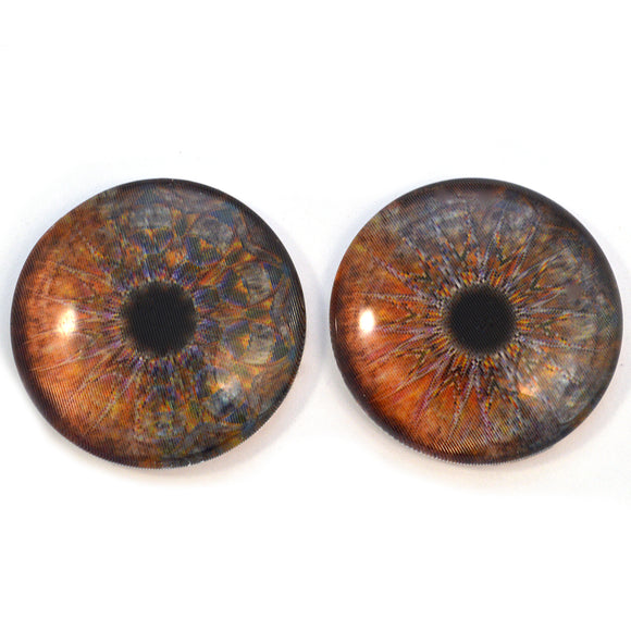Carnival Kaleidoscope Animated Glass Eyes
