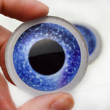 Celestial Blue Doll Glass eyes