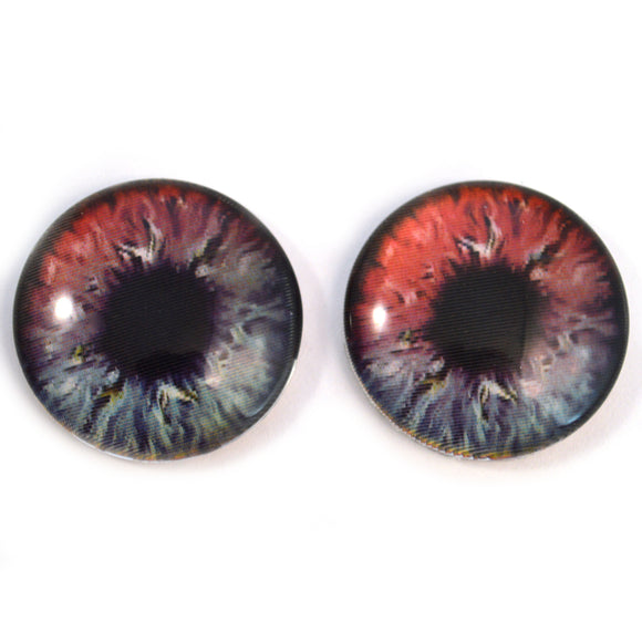 30mm Bold Holographic Color Changing Glass Craft Eyes
