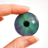 Northern Lights Fantasy Winter Glass Eye