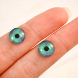 Northern Lights Fantasy Winter Glass Eyes