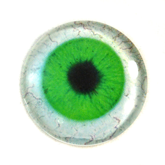 Bright Green Human Glass Eye