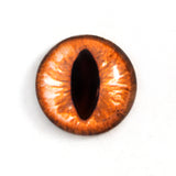 amber cat glass eye