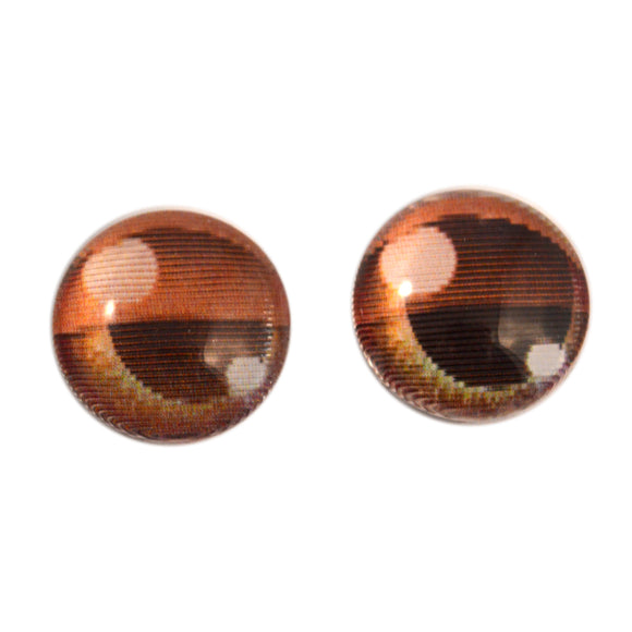 14mm Blinking Animated Doll Glass Eyes