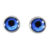 Blue Anime Glass Eyes