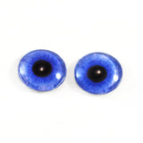 Blue Violet Zombie Glass Eyes