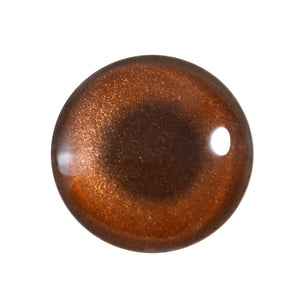 bronze metallic glass eye