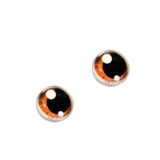 Brown Anime Glass Doll Eyes with Shines