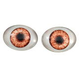 Doll Oval Glass Eyes 5 Pair Bulk Bundle