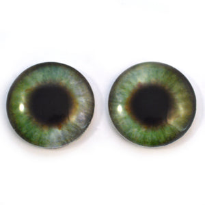 30mm Color Changing Pastel Doll Animated Glass Eyes