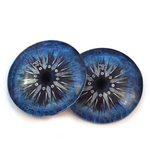 Compass Rose Water Nautical Glass Eyes
