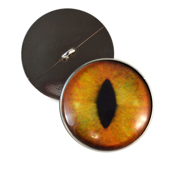 realistic cat eye buttons